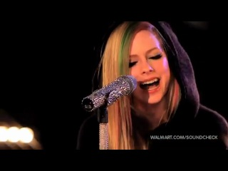 Avril Lavigne - Wish You Were Here (Walmart Soundcheck 2011)